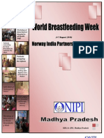 Summary Report on World Breast Feeding Week 2010 Report