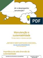 Divulgação e Teaser - Manutenção e Sustentabilidade