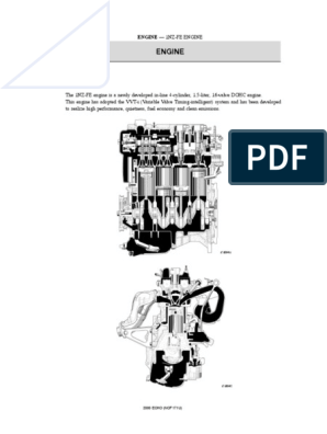 1NZ-FE_Engine_Description pdf   Piston   Engines
