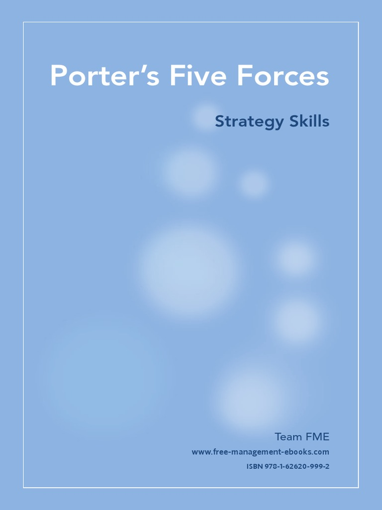 Porter's Five Forces: Strategy Skills