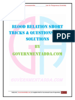 Blood Relation PDF by Governmentadda.com