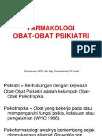 Farmakologi Obat2 psikiatri