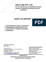 Hazelo Lab Pvt. Ltd., Yadadri Bhuvanagiri District - Draft EIA Report (Part I).pdf