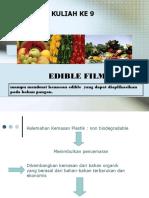 9.Edible Film