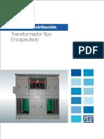 WEG Transformador Tipo Encapsulado Catalogo Espanol
