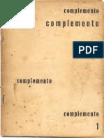 Revista Complemento n. 1