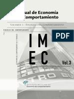 Instituto Mexicano de Economía del Comportamiento_2017 - Manual de Economía del Comportamiento_Vol 3 Finanzas del Comportamiento.pdf