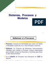 Conceptos de Sistemas, Procesos y Modelos