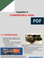 Cap 3 Compresorul Axial