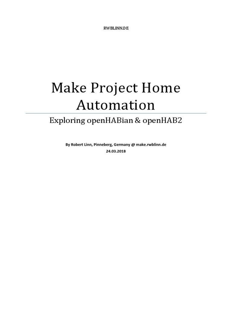 openhab-homeautomation   Usb   Raspberry Pi