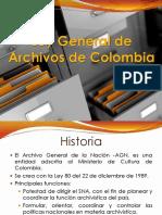 Ley General de Archivos de Colombia