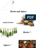 [KBP] Herbs and Spices