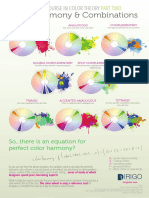 Color Theory Info Graphic Page 2