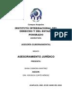 Asesoria Gubernamental Trabajo Asesoria 5 de Junio Del 2018