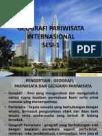 Geografi Pariwisata Internasional