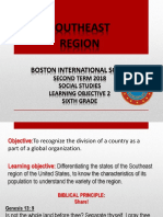 6th Southeast Region PPT May 22th- June 1,2018 Social St