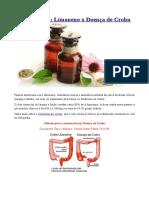 Aromaterapia - Limoneno x Doença de Crohn