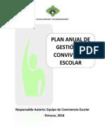 Modelo Plan de Gestión Para Editar