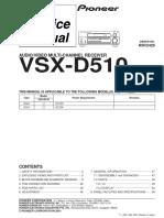 Pioneer Vsx d510