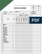 FO-SST-005B Inspección de Luces de Emergencia