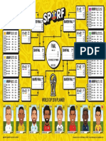 SPORF - 2018 World Cup - Wall Chart