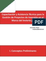 Gestion de Proyectos de Inversión Invierte.pe