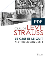 LÉVI-STRAUSS, Claude. Mythologiques. Vol. 1 - Le Cru Et Le Cuit