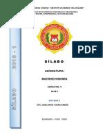 Silabo Macroeconomia Jdyr 2018-1