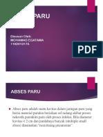 ABSES PARU ppt