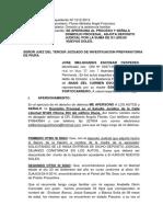 121- Jose Melquiades. Omisioon Apersonamiento