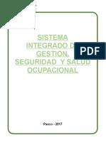 sistema integrado de gestion seguridda y salud ocupacional