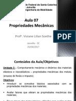 Aula 07_ Propriedades Mecanicas Dos Metais (1)