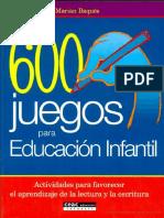 600 Juegos Para Educacic3b3n Infantil