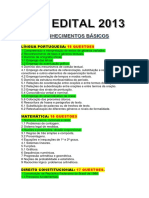 PRF EDITAL 2013