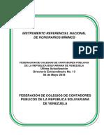 Honorarios Minimos Cpc Mayo 2018