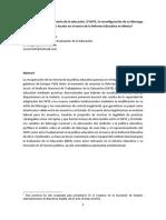 Rodríguez, O. La Recuperación de La Rectoría de La Educación. El SNTE y Los Sistemas Educativos Locales
