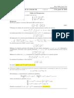 Corrección Segundo Parcial de Cálculo III, lunes 4 de junio de 2018 (tarde)