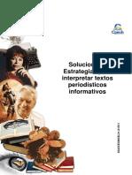 Solucionario Clase 7 CEG guía Estrategias para interpretar textos periodísticos informativos 2015.pdf