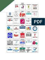 01 EUROPA Empresas de Paises