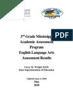 3rd Grade Maap Ela Results 2018 5.31.18 Final-2