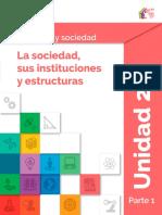 Contenido en extenso Módulo 8 - Ser Social y Sociedad y Sociedad - Unidad 2 - Prepa en línea - SEP México.