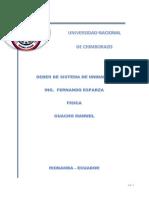 Universidad Nacional Deber de Fisica