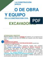 CLASE VI Excavadoras y Cargador (1)