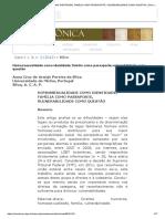 Homossexualidade Como Identidade, Família Como Passaporte, Vulnerabilidade Como Questão _ Silva _ Amazônica - Revista de Antropologia