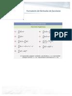 FormulariodeDerivadasdefunciones