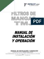 Manual de Instalacion y Operacion Filtros de Mangas TMJ
