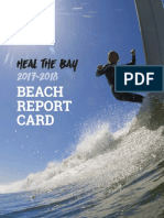 Heal the Bay 2017-18 Beach Report Card