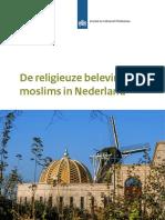 De Beleving Van Moslims in Nederland Definitief