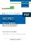 Whitepaper - Whats the Secret to CMMS Success