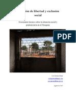 Privacion de Libertad y Exclusion Social